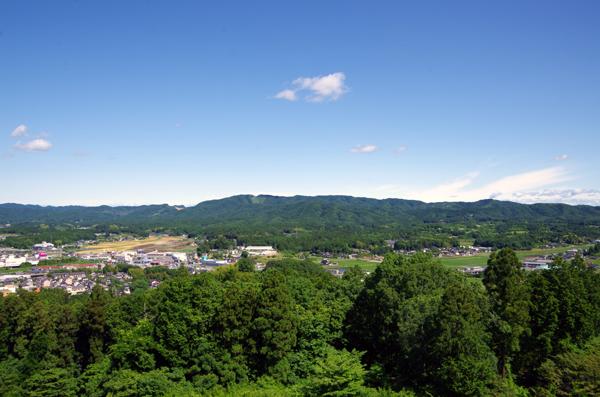 富士山と佐白山20