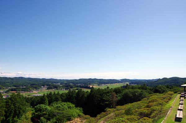 富士山と佐白山21