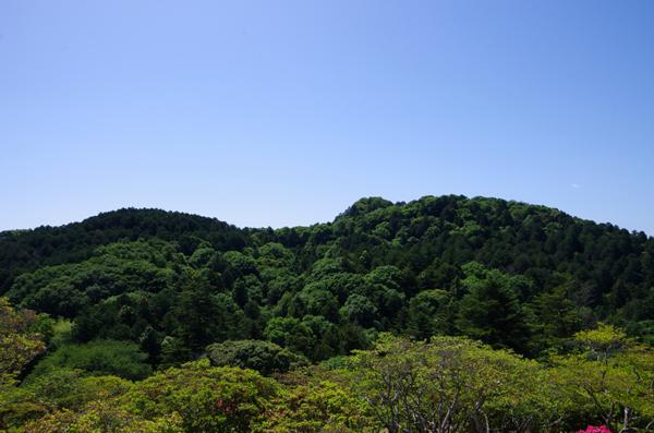 富士山と佐白山26