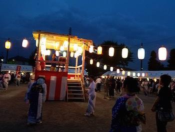 九支会盆踊り