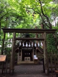宝登山神社奥院