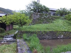 秋月城/北側櫓台