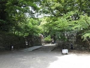 和歌山城/17裏坂へ