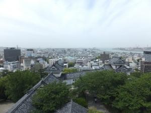 和歌山城/26眺望