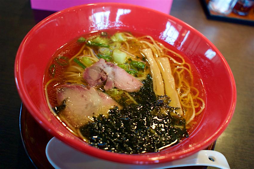 らー麺 藤原家@上三川町上三川 昔ながらの正油らー麺