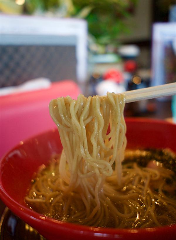 らー麺 藤原家@上三川町上三川 麺