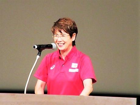 井村ヘッドコーチ講演~2017ファイテンファンの集い
