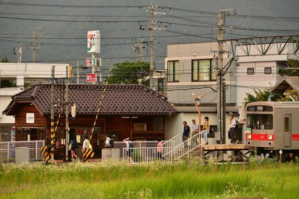 2017年7月7日 上田電鉄別所線 上田原 1000系1001編成