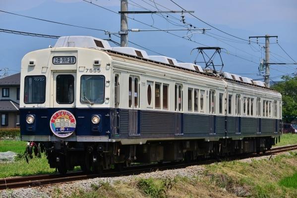 2017年7月8日 上田電鉄別所線 三好町~赤坂上 7200系7255編成