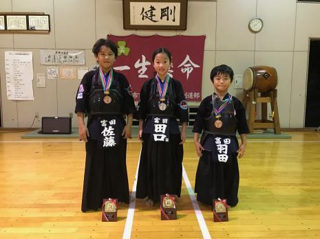 第36回三重少年剣道大会入賞
