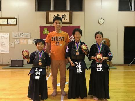 第36回三重少年剣道大会入賞_先生と一緒に