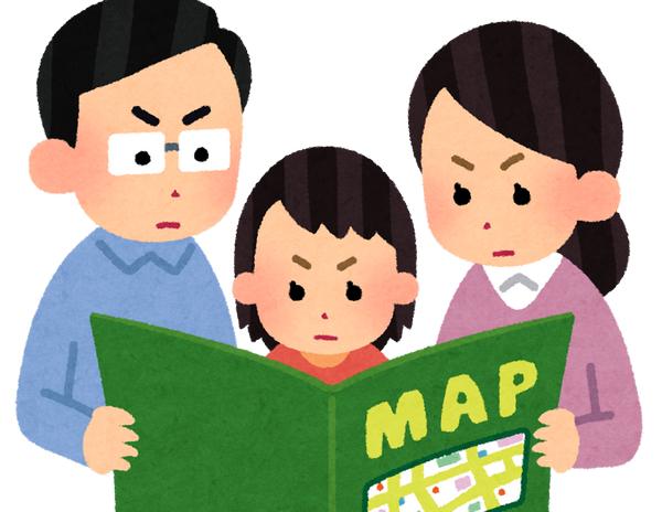 地図 マップ いらすとや