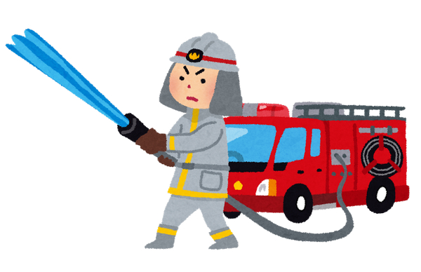消防士 いらすとや