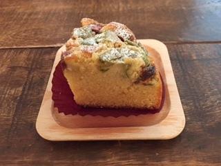 2017ルバーブのアーモンドケーキ