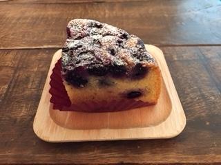 2017ブルーベリーのアーモンドケーキ