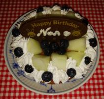 10歳お祝いケーキ♪
