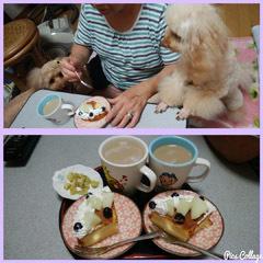 母にもケーキを コラ