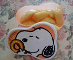 冷凍桃に!