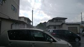 一瞬の雨a
