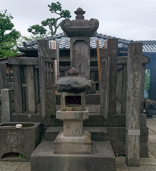 浅野長矩公夫人 墓所 22