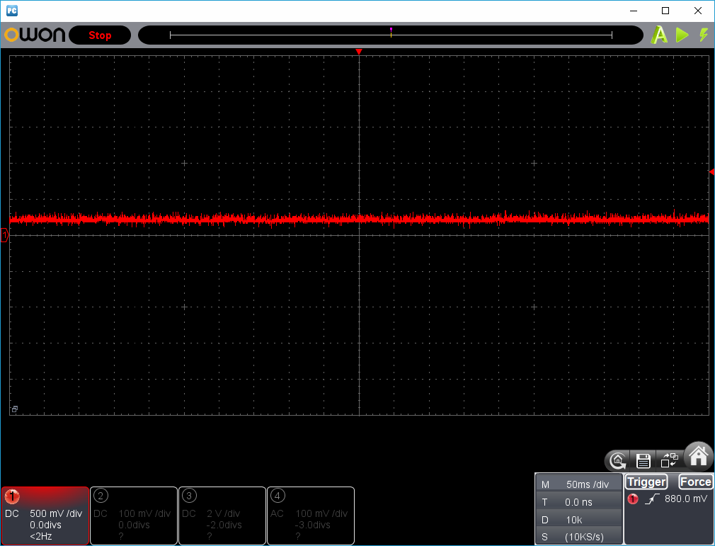 27MHz~2400MHzRFチェッカー波形2-3