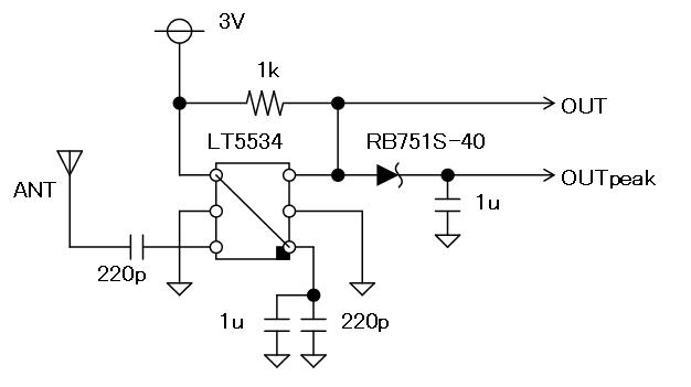 27MHz~2400MHzRFチェッカー回路図2
