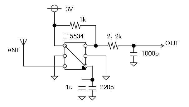27MHz~2400MHzRFチェッカー回路図3