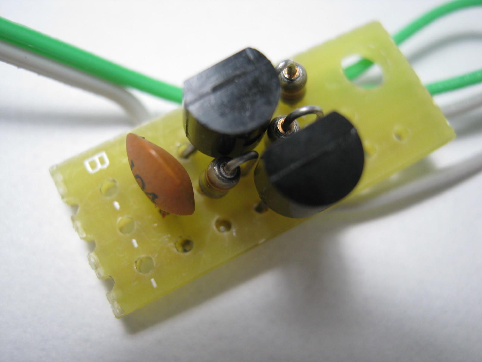 27MHz~2400MHzRFチェッカー(AD8314用モニター)基板表
