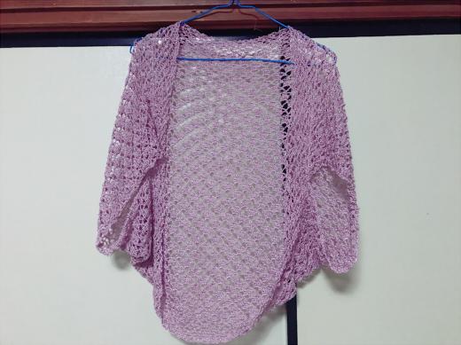 ボレロ かぎ編み