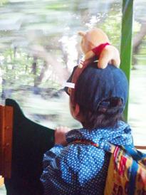 電車楽しい!