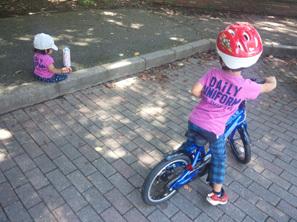 自転車いい感じ