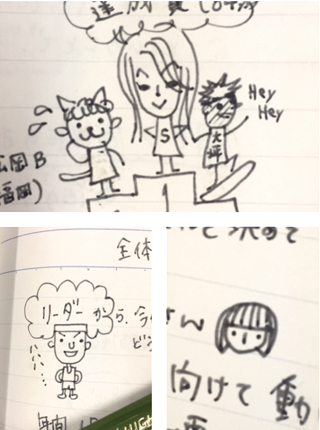 マル秘ノートの妖精