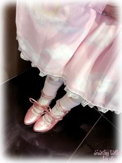 この靴可愛いよね。