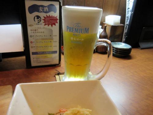 生ビールおかわり