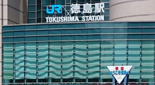 170812徳島駅
