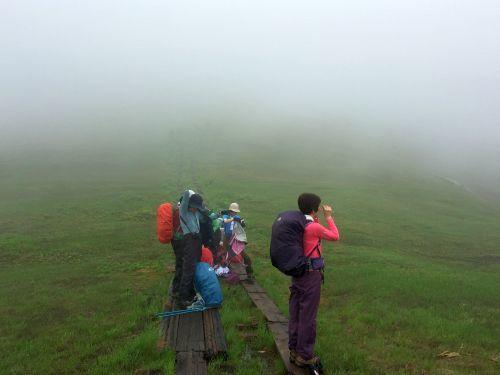 霧が晴れた