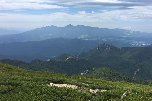 八ヶ岳と瑞垣山