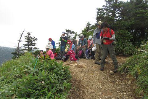 裏志賀山でランチ
