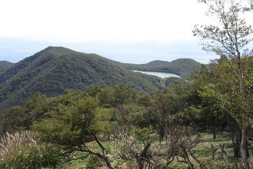 長九郎山と小沼