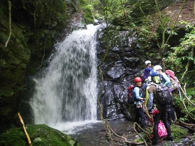 真名井沢の魚止滝
