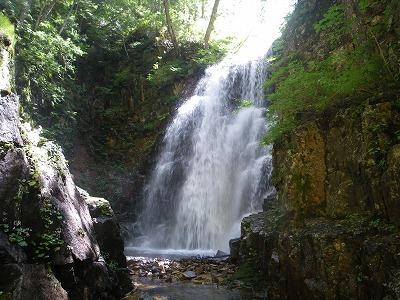 中岐沢の大滝