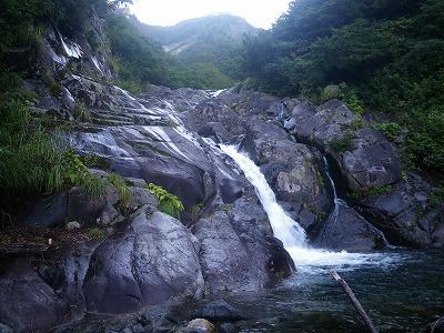 滝が始まる