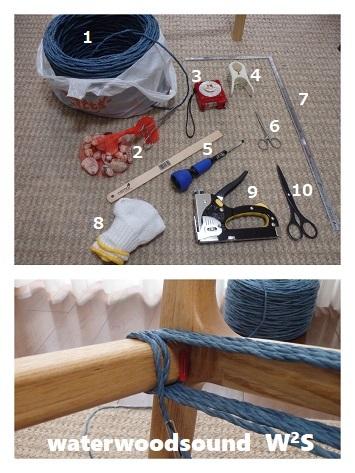 DIY アームチェア ペーパーコード1