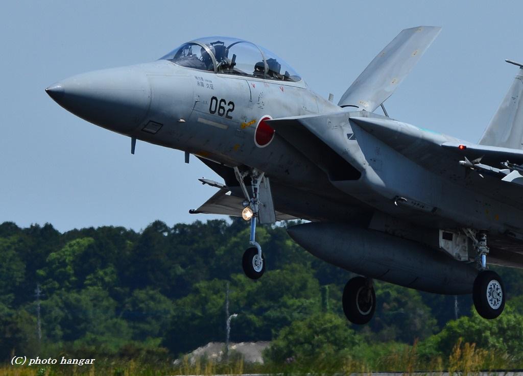F-15DJ  landing