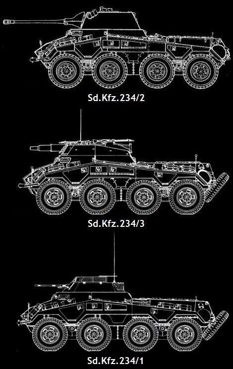Sd.Kfz.234/2_Sd.Kfz.234/3_Sd.Kfz.234/1