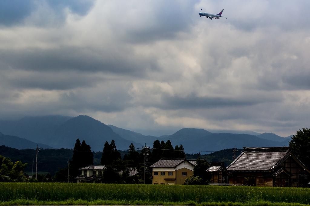 富山空港H29_8_17