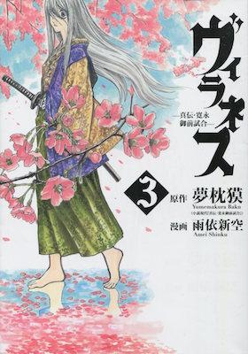 雨依新空&夢枕獏『ヴィラネス ー真伝・寛永御前試合ー』第3巻