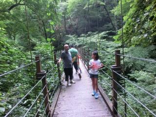 高尾山_吊り橋1