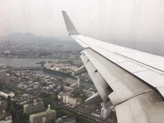 初日_飛行機
