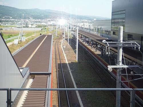新函館駅到着20170827